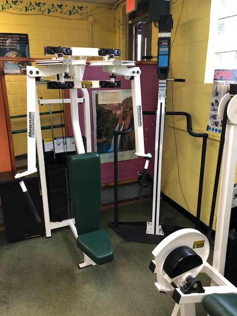 Versa Climber and Pec-Deck Fly Machine